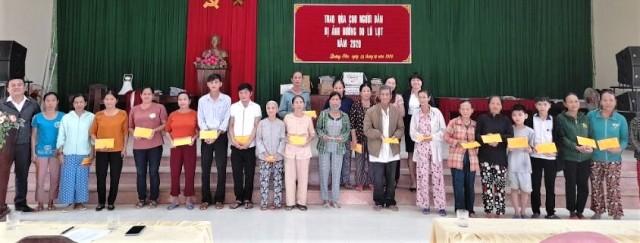 PVI tặng quà cho người dân huyện Quảng Điền (TT Huế)