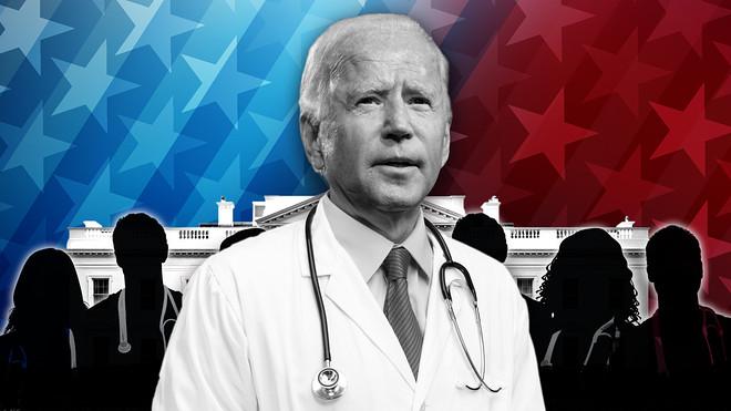 Kiểm soát đại dịch COVID-19 là ưu tiên hàng đầu của Tổng thống Biden. (Ảnh minh họa. Nguồn: Getty Images)