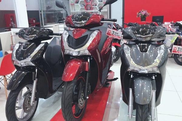 Honda SH 2020 bắt đầu tăng giá trở lại