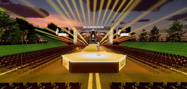 Hình ảnh phối cảnh sân khấu