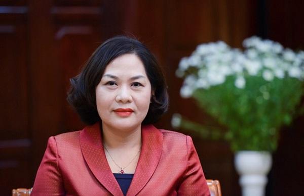 Bà Nguyễn Thị Hồng - Phó thống đốc Ngân hàng Nhà nước. Ảnh: SBV