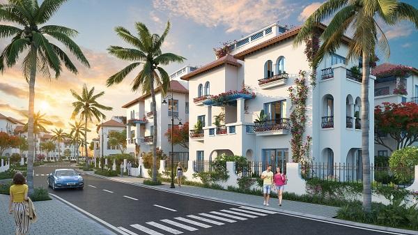 Sun Grand City Feria dự kiến cất nóc 157 căn biệt thự  trong tháng 11 này.