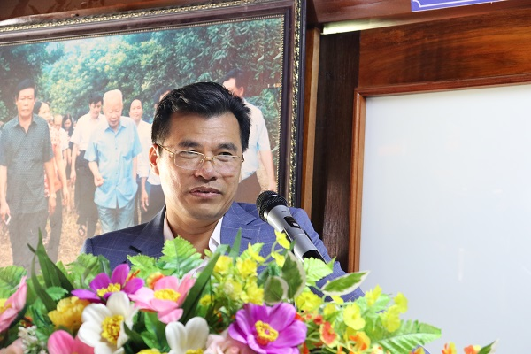 Ông Mai Hữu Phúc - Chi cục trưởng Chi cục Kiểm lâm Thanh Hóa đánh giá về việc triển trồng mắc ca của tỉnh
