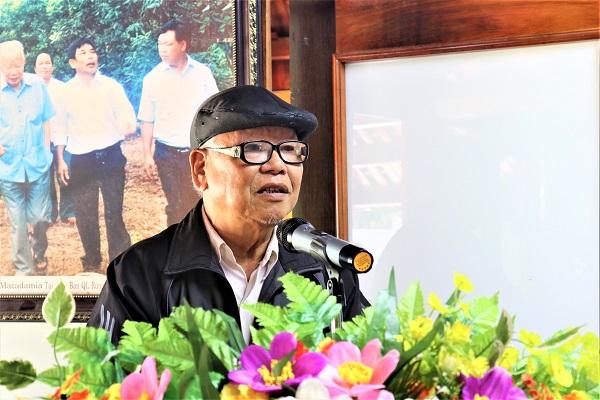 Ông Khương Bá Tuân, nguyên Phó Giám đốc Sở Nông nghiệp và Phát triển Nông thôn tỉnh Thanh Hóa cần chuyển đổi cơ cấu cây trồng sao cho phù hợp với thế mạnh của từng địa phương
