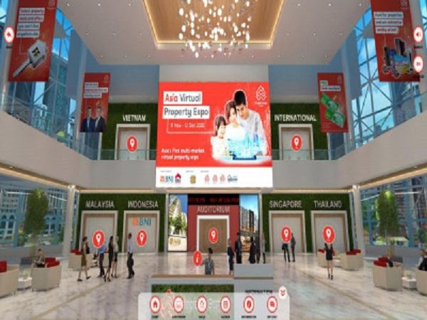 Nhiều doanh nghiệp tham gia triển lãm BĐS thực tế ảo lớn nhất châu Á