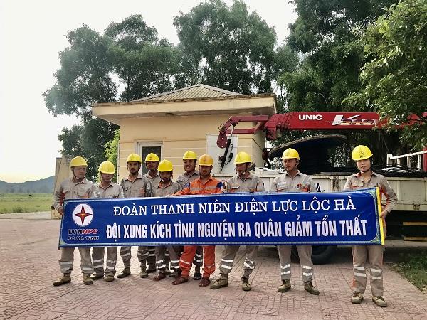 Điện lực Lộc Hà ra quân giảm tổn thất điện năng