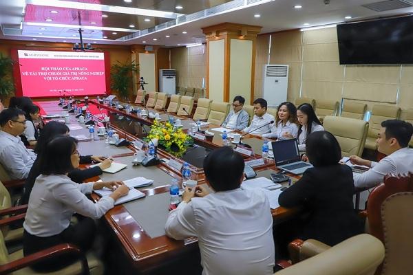 Agribank tham gia Hội nghị trực tuyến về cho vay theo chuỗi giá trị nông nghiệp do Hiệp hội Tín dụng Nông nghiệp và Nông thôn Châu Á - Thái Bình Dương (APRACA) tổ chức