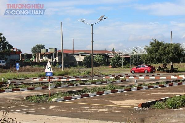 Công ty TNHH Cơ khí ô tô Thành Luân xây dựng sân tập ô tô