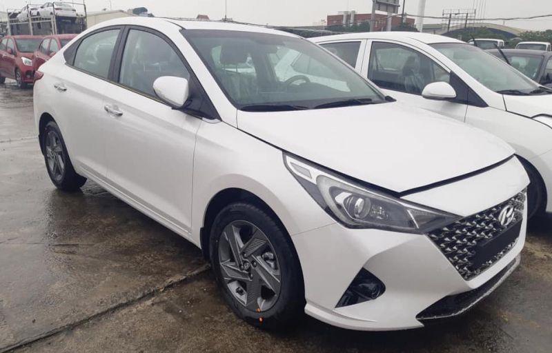 Hyundai Accent 2020 đã có mặt tại đại lý. Ảnh: Vũ Hoàng