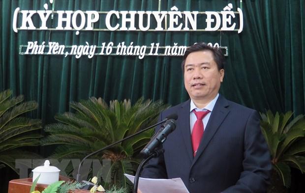 Tân Chủ tịch UBND tỉnh Phú Yên Trần Hữu Thế