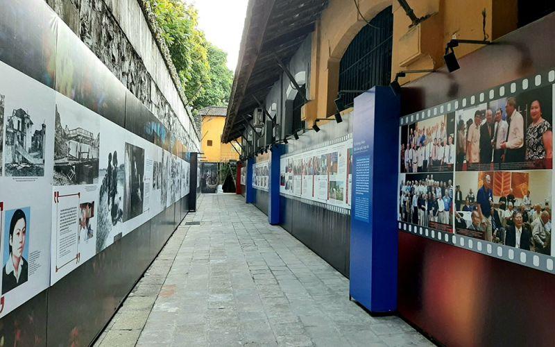 Các tư liệu, hình ảnh tại trưng bày