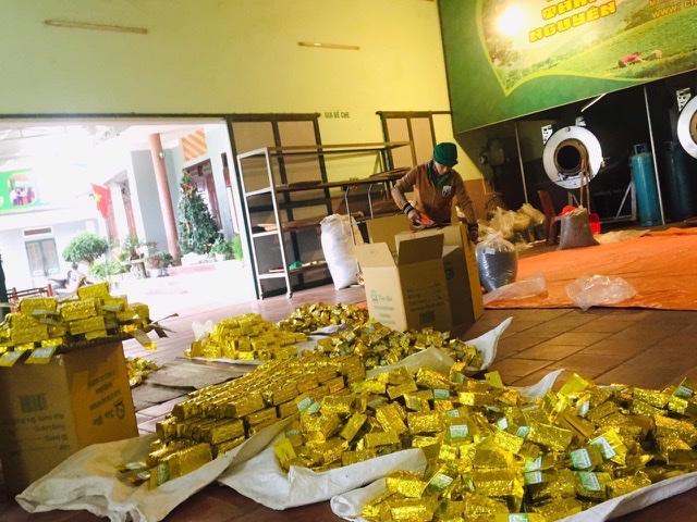 Trà sạch An Nguyên được sản xuất tại Xóm Hồng Thái 2, Tân Cương - cái nôi tạo ra được thức trà Tân Cương thơm, ngon nổi tiếng.