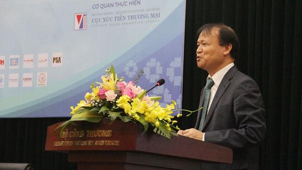 Thứ trưởng Đỗ Thắng Hải phát biểu tại sự kiện sáng 17-11
