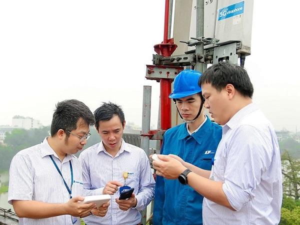VNPT kiểm tra cấu hình mạng 5G tại Hà Nội
