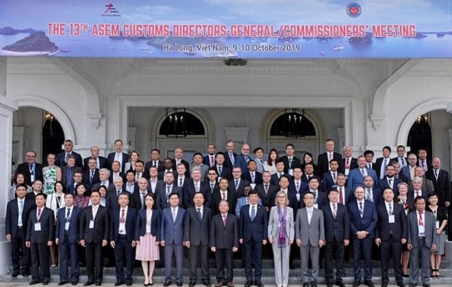 Hội nghị Tổng cục trưởng Hải quan ASEM lần thứ 13 đã khẳng định vai trò chủ động và tham gia tích cực của Hải quan Việt Nam trong hợp tác hội nhập quốc tế