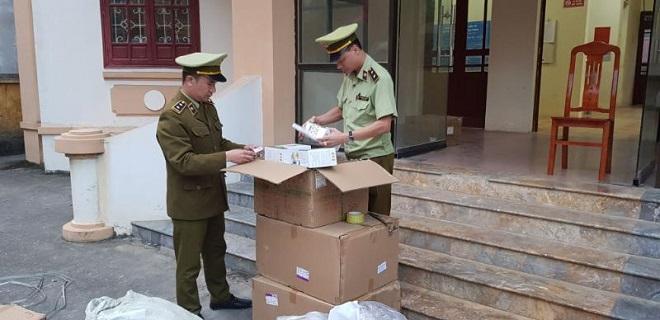 Lô hàng hóa vi phạm bị bắt giữ
