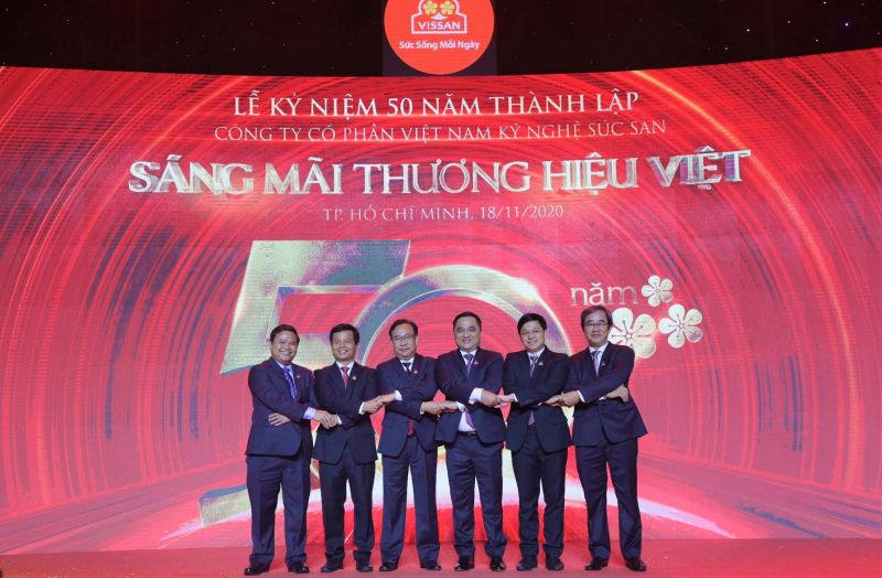Ban lãnh đạo của Công ty Cổ phần Việt Nam Kỹ Nghệ Súc Sản (Vissan)