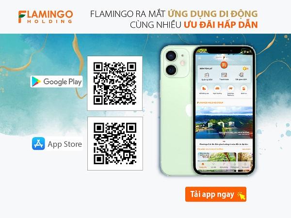 Nhân sự kiện đặc biệt này, Flamingo tung ra nhiều quà tặng hấp dẫn tri ân khách hàng cài đặt ứng dụng.