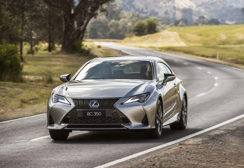 Tại thị trường Australia, Lexus RC 2021 có giá khởi điểm từ 49.712 USD