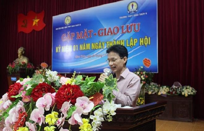 Phó chủ tịch thường trực Hội cựu học sinh Trường THPT Giao Thủy B, Đỗ Văn Phung