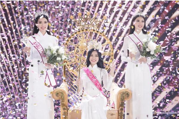 Chân dung tân Hoa hậu Việt Nam 2020 cùng 2 á hậu