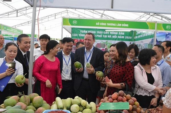 Tuần hàng trái cây, nông sản các tỉnh, thành phố tại Hà Nội năm 2020, tổ chức tại MM Mega Market Hà Đông