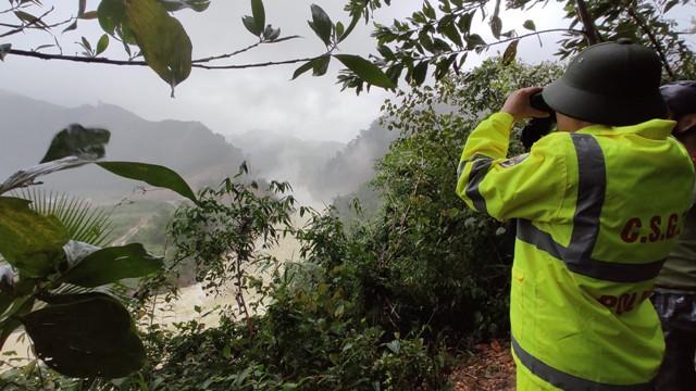 Lực lượng công an tỉnh TT Huế giám sát 24/24 việc tích nước của Nhà máy TĐ Thượng Nhật