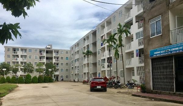 Chung cư Gia Phúc - một trong 5 dự án nhà ở xã hội đang thực hiện đầu tư.