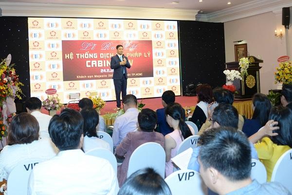Tiến sĩ, Luật sư Nguyễn An Chủ tịch Hội đồng quản trị Cabin Law