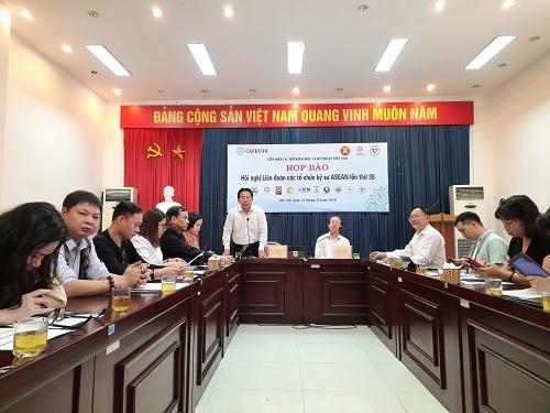 Họp báo Hội nghị CAFEO 38 do Liên hiệp các hội Khoa học kỹ thuật Việt Nam tổ chức hôm 23/11 tại Hà Nội
