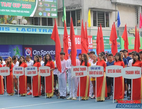 Khai mạc Giải quần vợt vô địch Nam-Nữ Quốc gia(Masters 500-2) Cúp Lạch Tray 2020