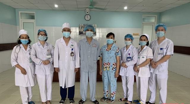 Sau 2 tuần điều trị, bệnh nhân đã có thể xuất viện với tình trạng ổn định