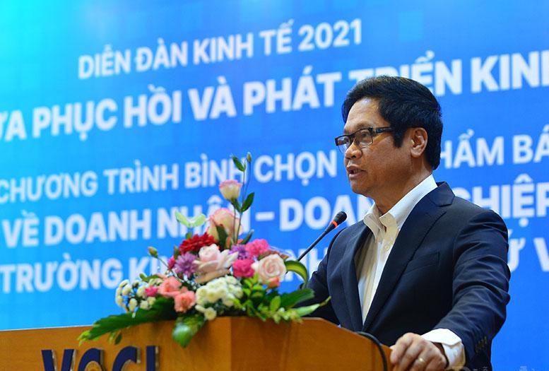TS. Vũ Tiến Lộc - Chủ tịch Phòng Thương mại và Công nghiệp Việt Nam (VCCI)