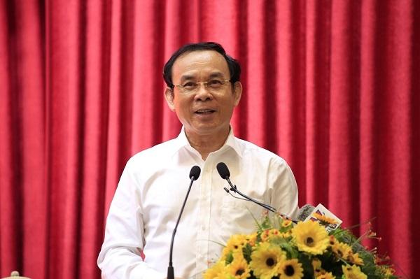Bí thư Thành ủy Nguyễn Văn Nên phụ trách 6 đơn vị và chịu trách nhiệm chỉ đạo chung.