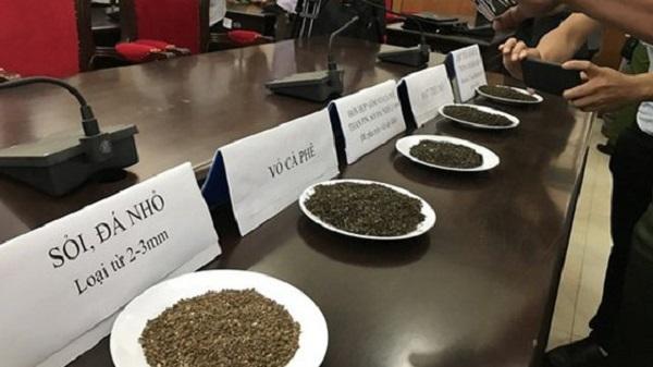 Một số tạp chất dùng để trộn vào hạt tiêu trước khi đưa ra thị trường.