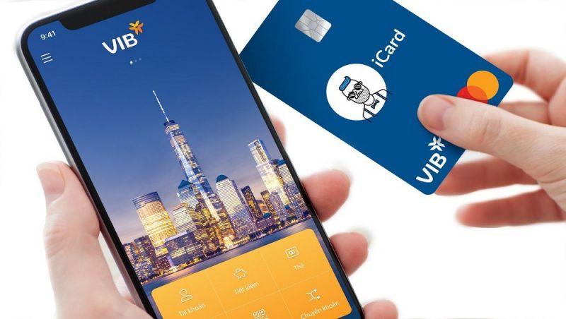 tài khoản ngân hàng số này gồm bộ ba giải pháp thanh toán: tài khoản số Digi, ứng dụng MyVIB và thẻ thanh toán toàn cầu iCard