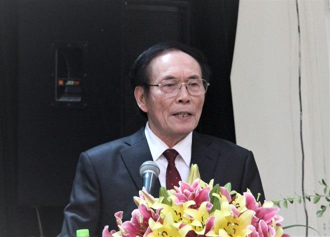 Chủ tịch Hiệp hội VATAP, nhiệm kỳ 2016 -2025, Lê Thế Bảo phát biểu tại Đại hội