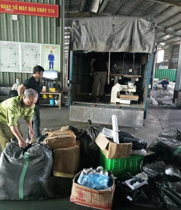 QLTT Bắc Ninh và tang vật vụ việc