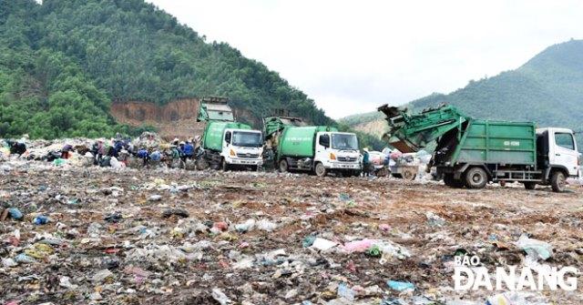 Bãi rác Khánh Sơn, TP. Đà Nẵng đang được đầu tư, xây dựng thành Khu liên hợp xử lý chất thải rắn sinh thái