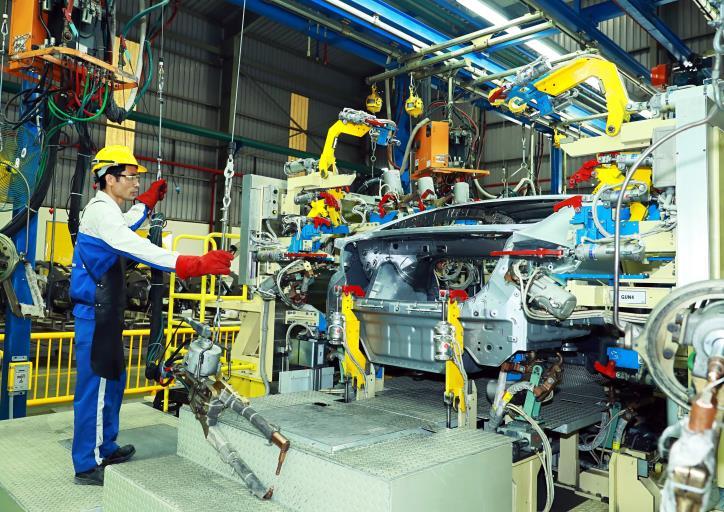 Sản xuất công nghiệp tháng 11/2020 tăng 9,2% so với cùng kỳ năm trước