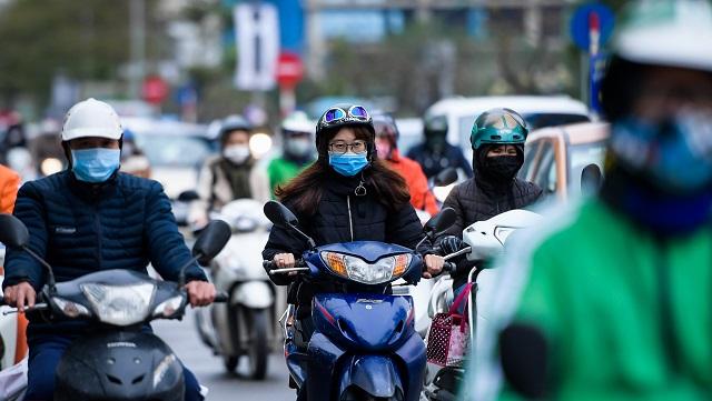 Khu vực Hà Nội không mưa, trưa chiều trời nắng. Trời rét với nhiệt độ thấp nhất phổ biến 15 - 17 độ.