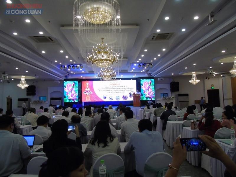 Quang cảnh hội nghị tổng kết 10 năm thực hiện Đề án đào tạo nghề lao động nông thôn