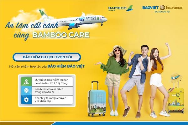 Bảo hiểm du lịch BambooCARE - An tâm từng dặm bay cùng Bảo hiểm Bảo Việt & Bamboo Airways