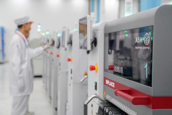 Nhà máy hiện đại của Vsmart được đánh giá có đủ năng lực sản xuất các sản phẩm điện thoại công nghệ cao ở tiêu chuấn cao nhất
