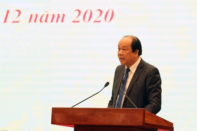 Bộ trưởng, Chủ nhiệm Văn phòng Chính phủ Mai Tiến Dũng đã chủ trì Họp báo chính phủ thường kỳ tháng 11/2020