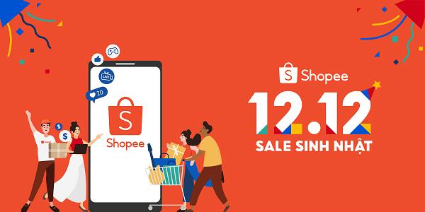 Shopee khởi động sự kiện 12.12 Sale Sinh Nhật - Kỷ niệm hành trình 5 năm đẩy mạnh số hóa trong khu vực