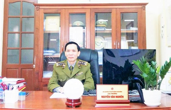 Cục trưởng Cục QLTT Thái Bình, Nguyễn Văn Nghiên