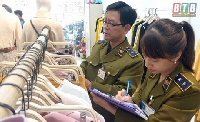 Lực lượng QLTT Thái Bình tăng cường kiểm tra, kiểm soát thị trường hàng hóa
