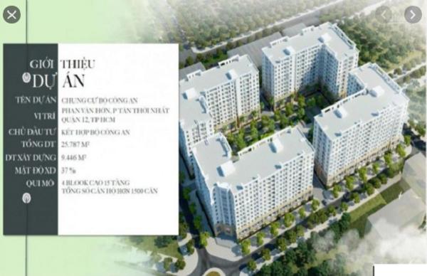 TP. HCM vừa đưa ra cảnh báo người dân về việc mua bán căn hộ có dấu hiệu lừa đảo tại đường Phan Văn Hớn, phường Tân Thới Nhất, quận 12.