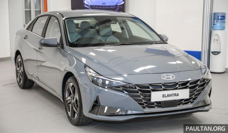 Hyundai Elantra 2021 tại Malaysia